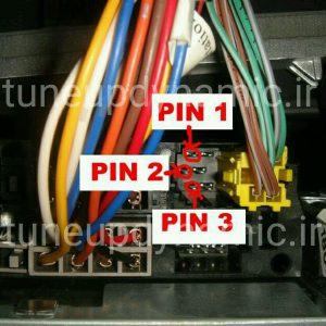 نصب کابل AUX روی پخش فابریک مگان